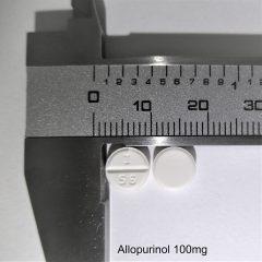 Tabl Final Photo Allopurinol 100mg
